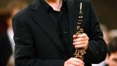 vista previa del artículo Alejandro Posada y el oboísta Ramón Ortega Quero, concierto de la OSCyL en el Auditorio Miguel Delibes