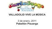 vista previa del artículo Una Historia Navideña (Cantajuego), en el Pabellón Polideportivo Pisuerga de Valladolid