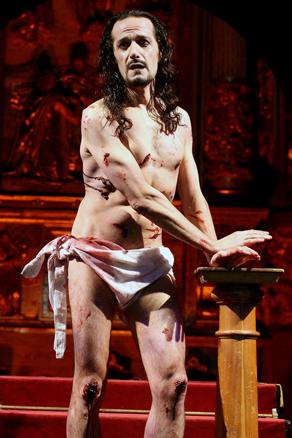 Cristo de Teatro Corsario