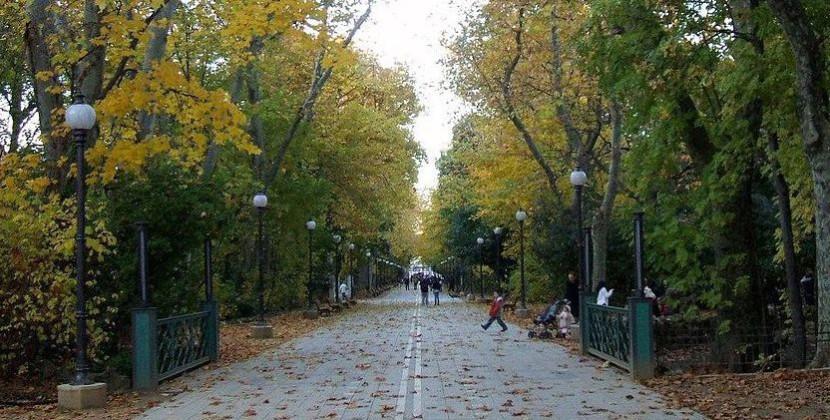 Parque en Valladolid